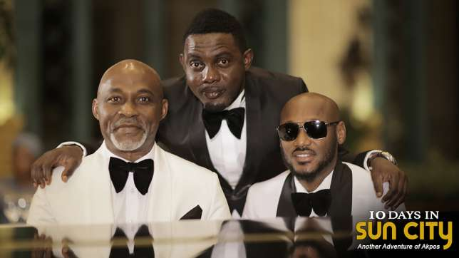 AY Makun's releases behind the scenes Picture of his new movie