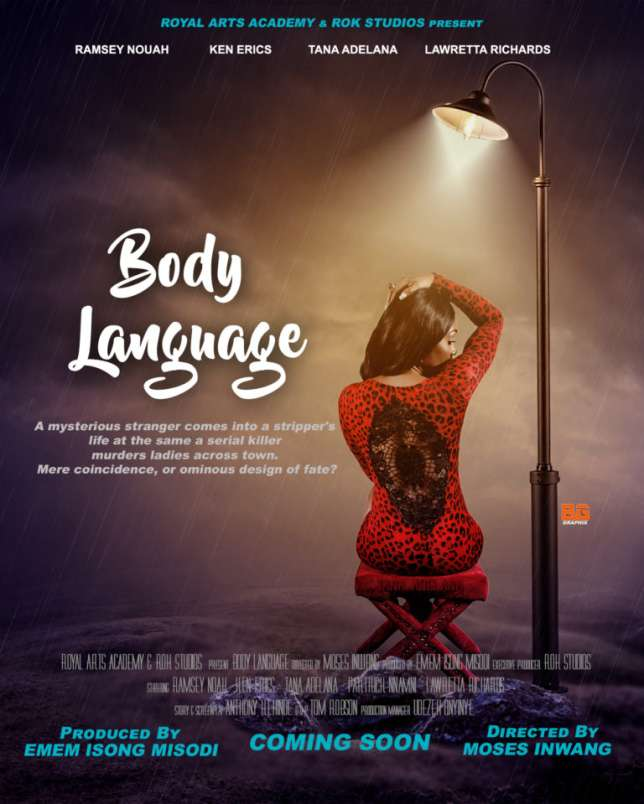"""Ramsey Nouah, Tana Adelana in Trailer For New Nollywood Film; """"Body Language"""""""